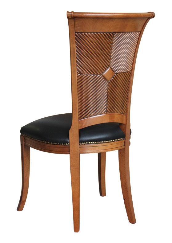 chaise solide en bois faramir lamaisonplus. Black Bedroom Furniture Sets. Home Design Ideas