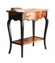 console, bicolore, table d'appoint