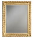 Miroir classique à la feuille d'or ou d'argent Arteferretto
