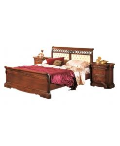 lit deux places rembourré