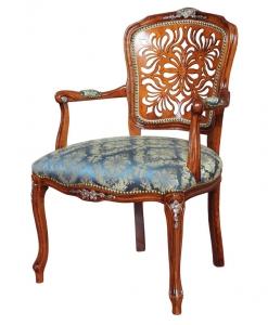 fauteuil louis xv ciselé, fauteuil de style, fauteuil haut de gamme