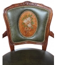 Fauteuil Parisienne, fauteuil de style, fauteuil made in Italy