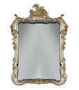 miroir, miroir de luxe, miroir sculpté, miroir en feuille d'or