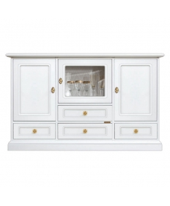 Meuble buffet vitrine Amenity Lux Arteferretto