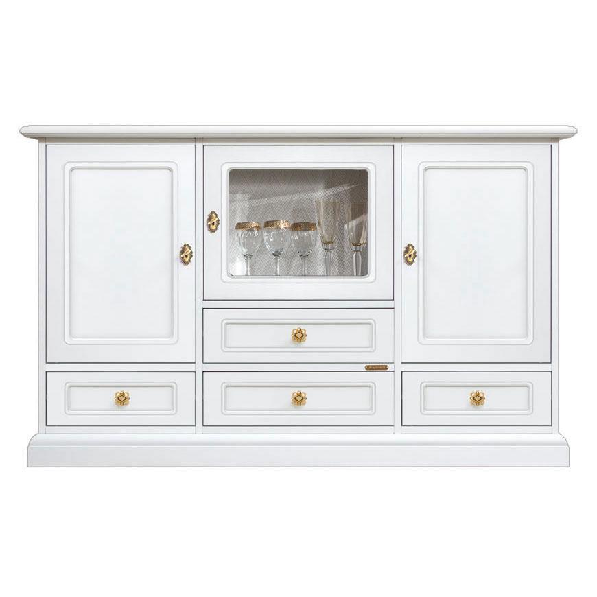 meuble buffet vitrine amenity lux lamaisonplus. Black Bedroom Furniture Sets. Home Design Ideas
