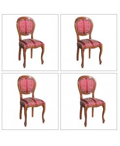 lot de chaises, chaises de salon, chaises de cuisine, lot 4 chaises
