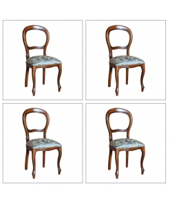 lot de chaises, lot 4 chaises