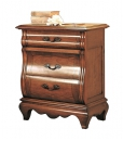 table de chevet, chevet en bois, chambre à coucher classique