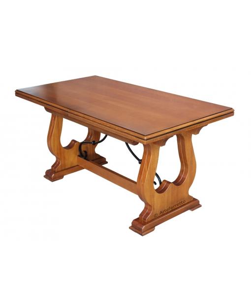 table extensible, table avec rallonge, table en bois massif