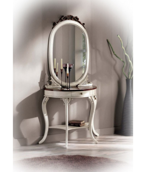 console avec miroir vanity lamaisonplus. Black Bedroom Furniture Sets. Home Design Ideas