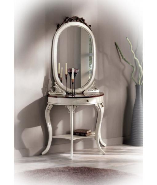 Console avec miroir vanity lamaisonplus for Console avec miroir pour entree