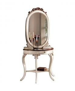 Console et miroir, console miroir pour l'entrée