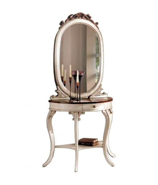 Console avec miroir vanity lamaisonplus for Console avec miroir