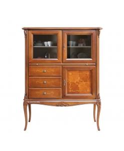 meuble bar, petite vitrine, meubles pour le salon