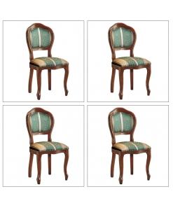 Lot de 4 Chaises Classiques Arco