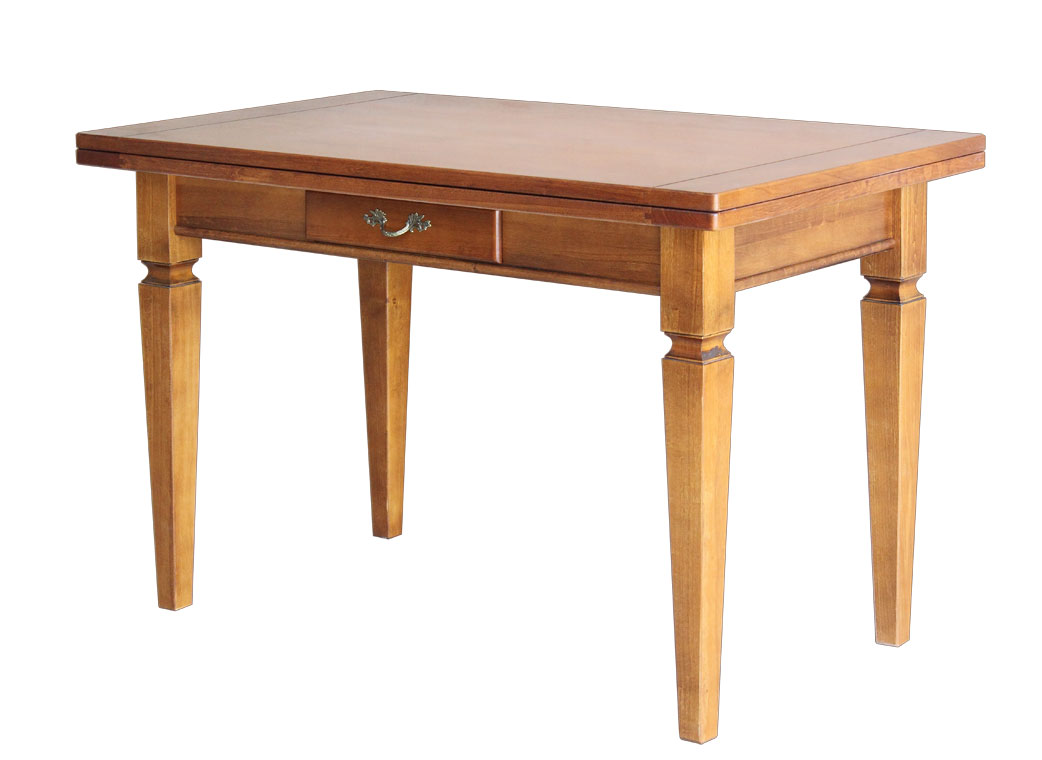 Table de cuisine extensible cm 120 140 for Table 140 cm extensible