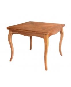 Table extensible, table avec rallonges, table de cuisine, table de salle à manger