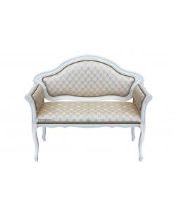 canapé, petit canapé, canapé blanc, canapé deux places, salon, Arteferretto