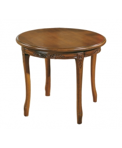 table ronde d'appoint, table de salon, petite table de salon