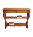 console, table d'appoint, console en bois