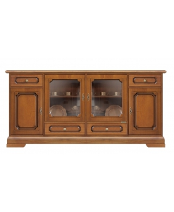 Buffet vitrine 180 cm largeur Karol Arteferretto