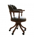 fauteuil de bureau avec rouelttes, fauteuil de cabinet, fauteuil tournant, fauteuil de bureau avec accoudoirs