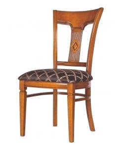 chaise de cuisine, chaise en massif, chaise salle à manger, chaise rembourrée