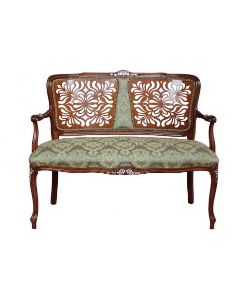 canap classique light flowers lamaisonplus. Black Bedroom Furniture Sets. Home Design Ideas