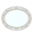 miroir ovale blanc, miroir ovale, miroir blanc