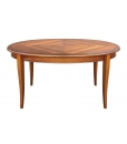 table ovale prolongeable, table prolongeable, table ovale 8 places, table 8 places, table en bois