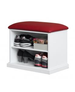 banquette range chaussures, rangement chaussures, étagères range chaussures