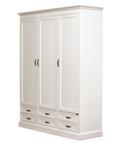 Armoire modulaire en bois 3 portes 6 tiroirs Arteferretto