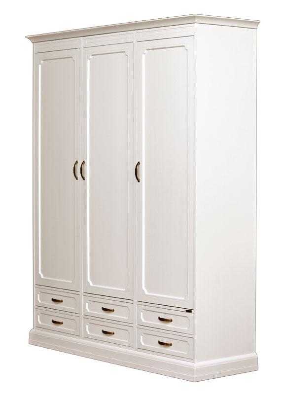 armoire modulaire en bois 3 portes 6 tiroirs lamaisonplus. Black Bedroom Furniture Sets. Home Design Ideas