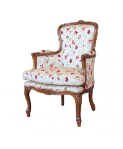 fauteuil avec coussin, fauteuil classique, fauteuil de salon