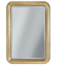 Miroir rectangulaire angles arrondis Arteferretto
