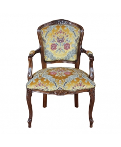 fauteuil, fauteuil classique, chaise avec accoudoirs