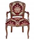 fauteuil en velours, tissu velouté