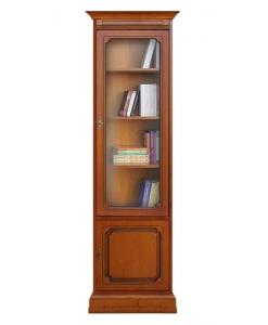 Colonne bibliothèque vitrée gain de place Arteferretto