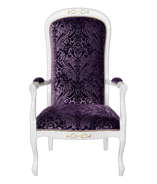 Fauteuil Fantastic Fly violet Sweetness