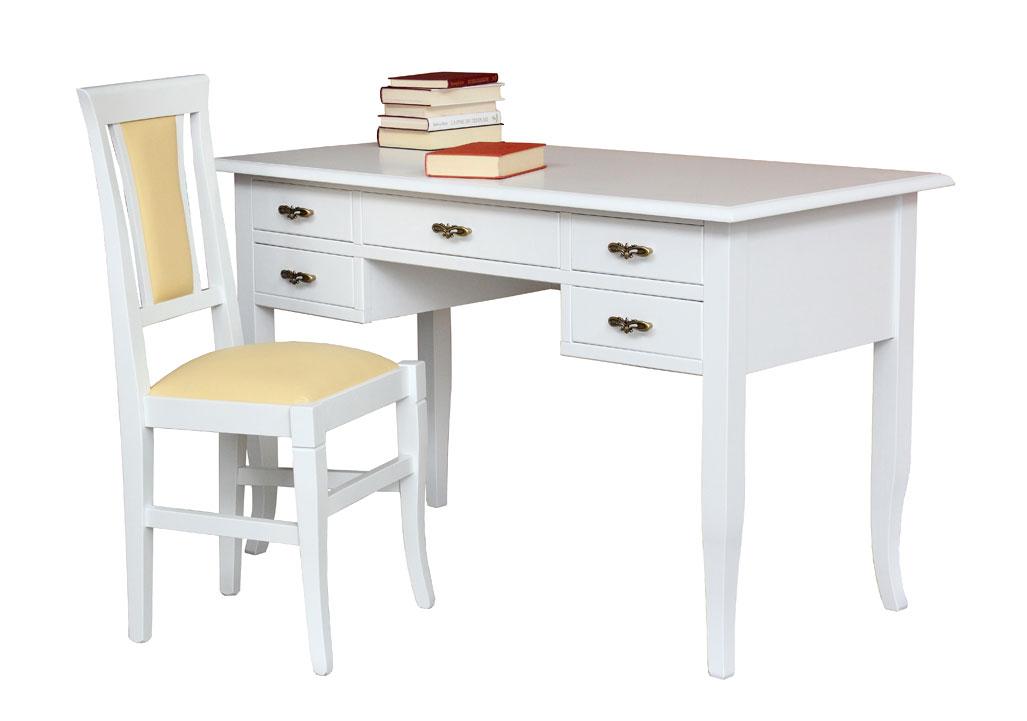 ensemble bureau et chaise claire lamaisonplus. Black Bedroom Furniture Sets. Home Design Ideas