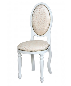 Petite chaise ovale « Empire »