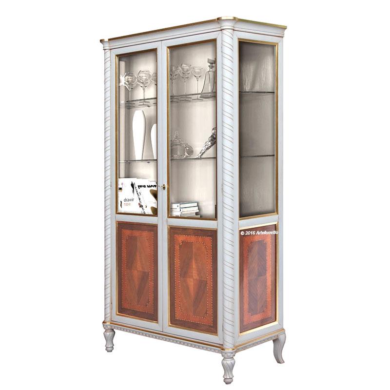 vitrine bois et verre. Black Bedroom Furniture Sets. Home Design Ideas