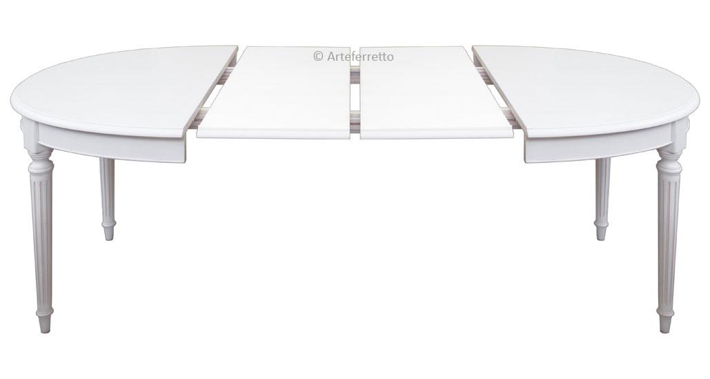 Ovale Extensible Louis Table Xvi Style JcTFK13ul