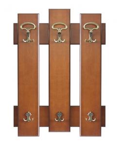 Porte-manteau patère, porte-manteau hall d'entrée, patère en bois, mobilier de style classique