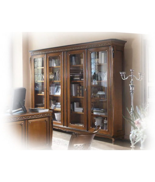 biblioth que murale style 700 v nitien lamaisonplus. Black Bedroom Furniture Sets. Home Design Ideas