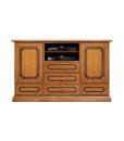 Meuble TV multifonction, meuble banc tv, buffet rangement, bahut