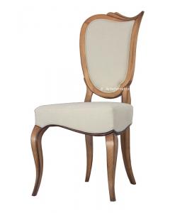 chaise en massif, chaise de cabinet, chaise salle à manger , chaise design, chaise style classique