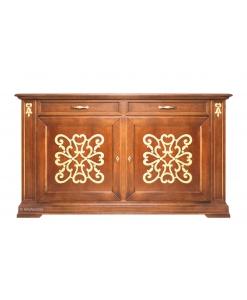 Buffet en bois avec tiroirs, meuble buffet, bahut, buffet rangement salon, acheter meubles en ligne