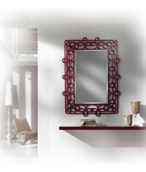 Solution pour l 39 entr e miroir et tag re lamaisonplus for Miroir design pour entree