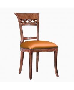 Chaise en bois massif Jet set